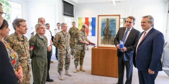 El presidente Alberto Fernández dió instrucciones a las Fuerzas Armadas
