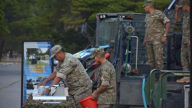 Coronavirus - La Armada Argentina tambien se alista para tareas de apoyo y ayuda humanitaria