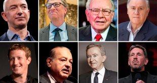 Las 10 personas mas ricas del planeta según Forbes