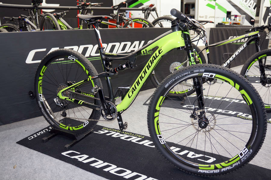 2. 2015 CANNONDALE Scalpel 29 Carbon Team