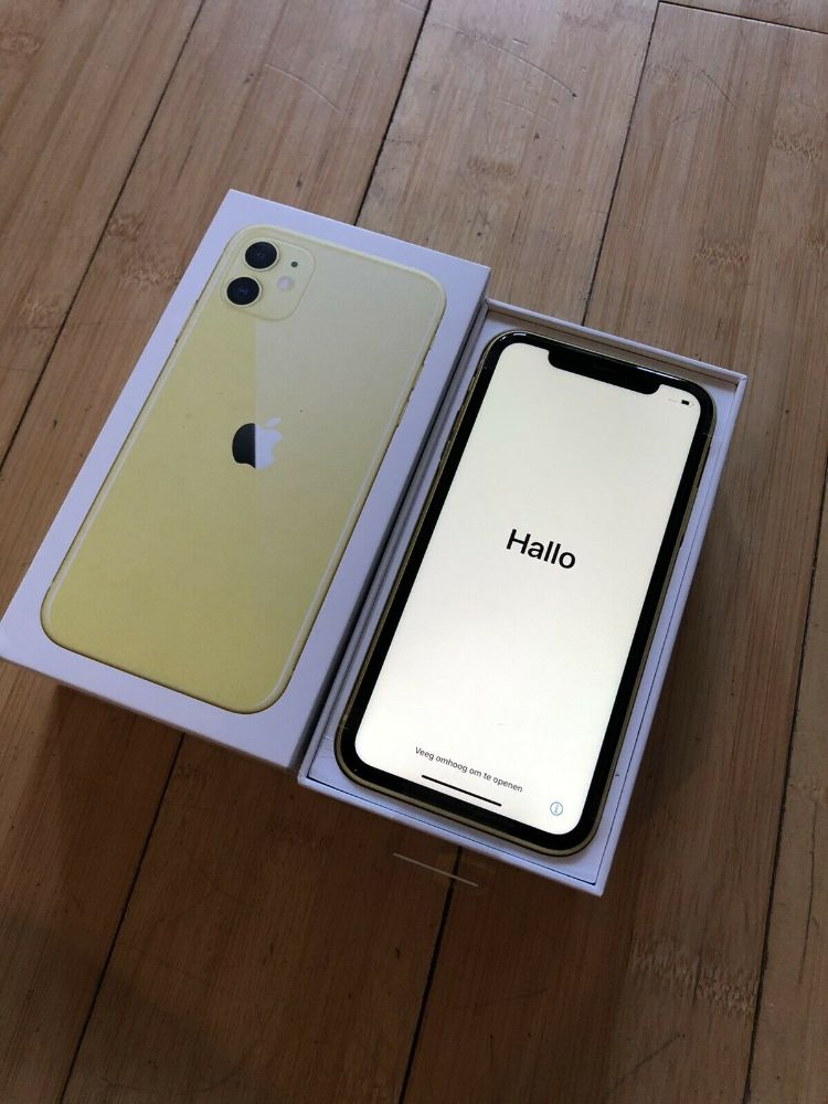 apple iphone 11 yellow a