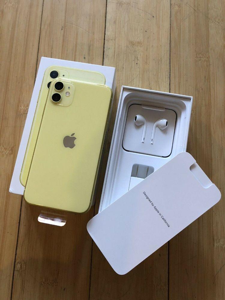 apple iphone 11 yellow w