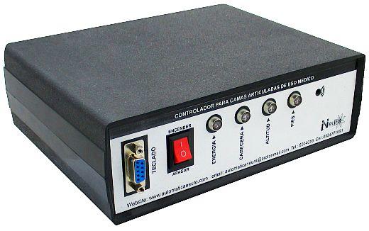 Módulo de control para camas articuladas de uso médico