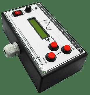 Módulo electrónico de control para soldadoras de punto