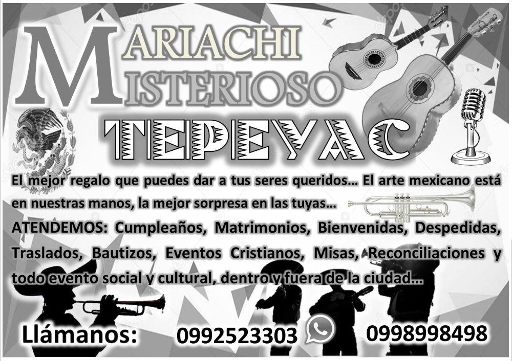 Anuncio Mariachi IMAGEN ByN