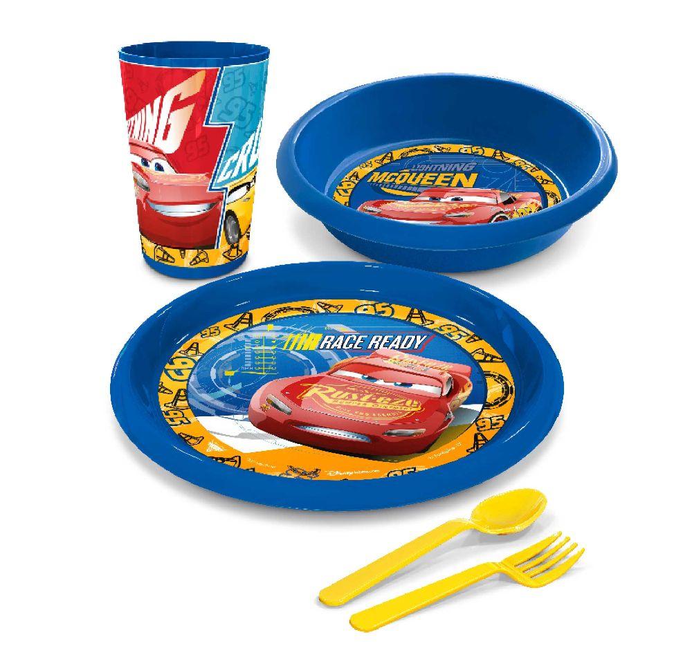 vajilla baby lunch cars