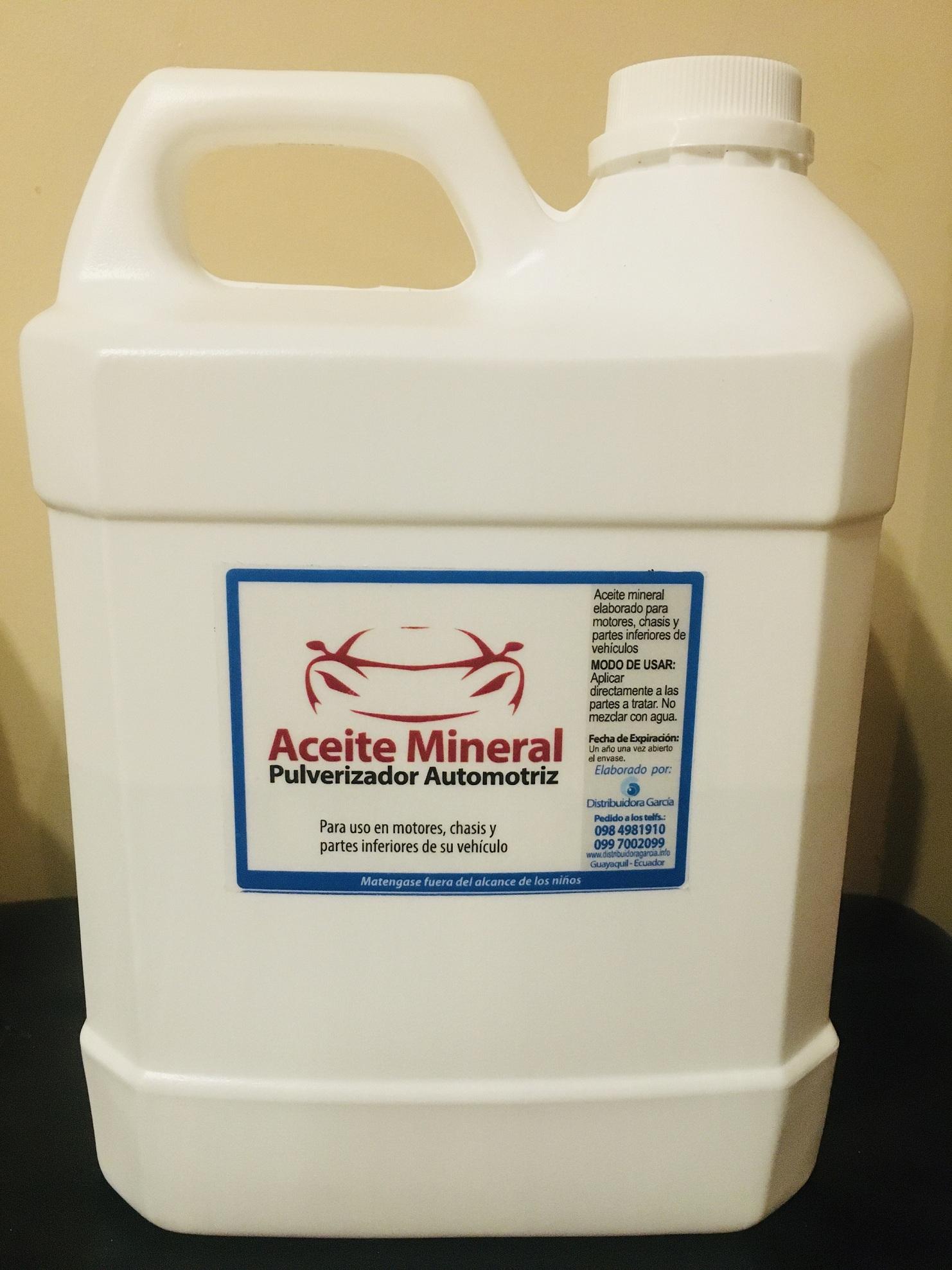 aceite mineral pulverizador galon