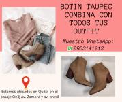 Botin Taupec Promo Nueva