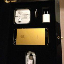 1 5s gold accessories