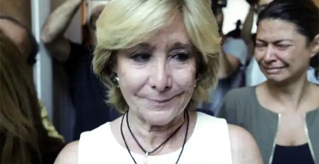 Dimite Esperanza Aguirre