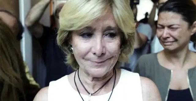 ¿Por qué ha demitido Esperanza Aguirre?