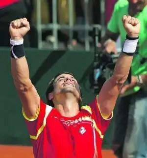 España en la final de la Copa Davis