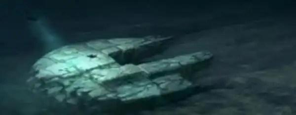 Descifran el misterio del OVNI en el fondo del mar