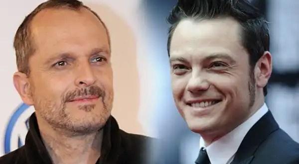 Miguel Bosé y Tiziano Ferro estarían viviendo un romance