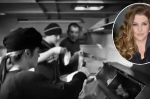 Hija de Elvis vende papas fritas - Fotos