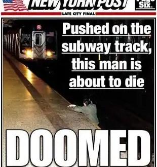 Mira la foto que avergüenza a los neoyorquinos