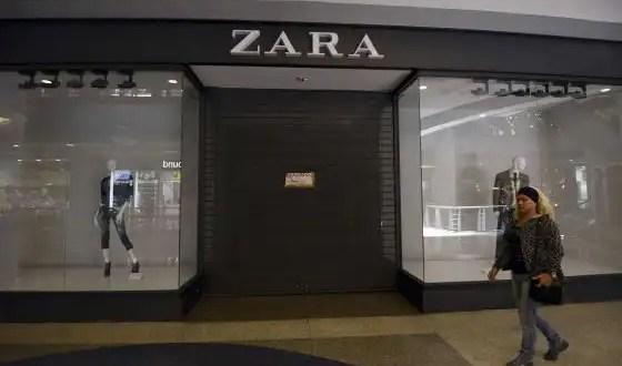 Venezuela cierra por tres días 9 tiendas Zara