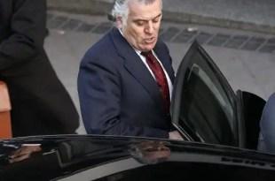 Bárcenas recurre la retirada del pasaporte y la prohibición de salir de España