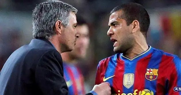 Conoce el insulto de Mourinho a Dani Alves