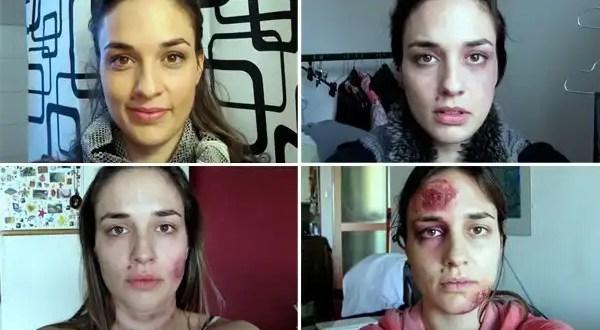 El escalofriante testimonio de una maltratada - Vídeo y Fotos