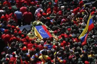 Maduro toma el mando de Venezuela