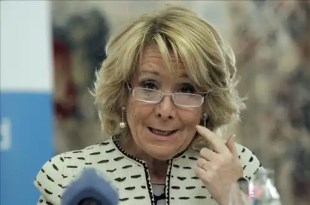 Esperanza Aguirre pide la dimision de Moliner