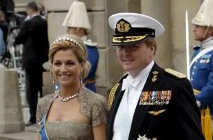 Holanda se prepara para la coronacion de Guillermo Alejandro IV y Máxima Zorreguieta