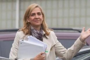 El juez Castro halla indicios de complicidad de la infanta Cristina en Nóos