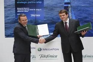 La alianza comercial de Telefónica y MegaFon
