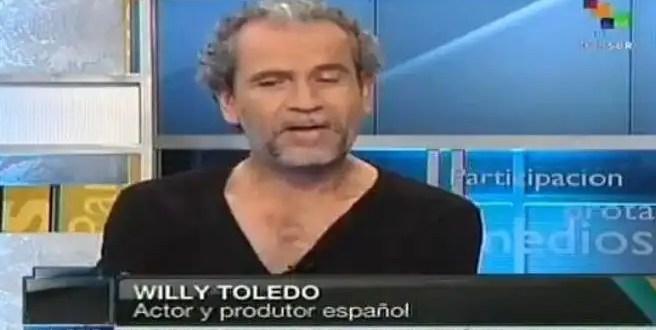 Willy Toledo se va a Cuba
