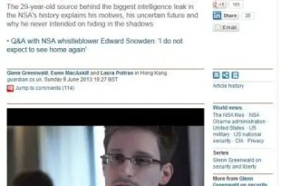 Insólito: Un extrabajador de la CIA desvela el programa de vigilancia y espionaje