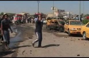 Irak: 60 muertos en atentados con coche bomba