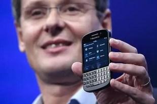 La empresa canadiense BlackBerry, oficialmente en venta