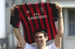 Kaká regresa al Milan tres años después