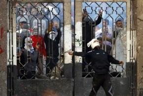 Estudiantes islamistas prenden fuego a la Universidad de Al Azhar