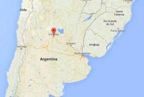 Insólito: Encuentran a joven ladrón argentino 'crucificado'