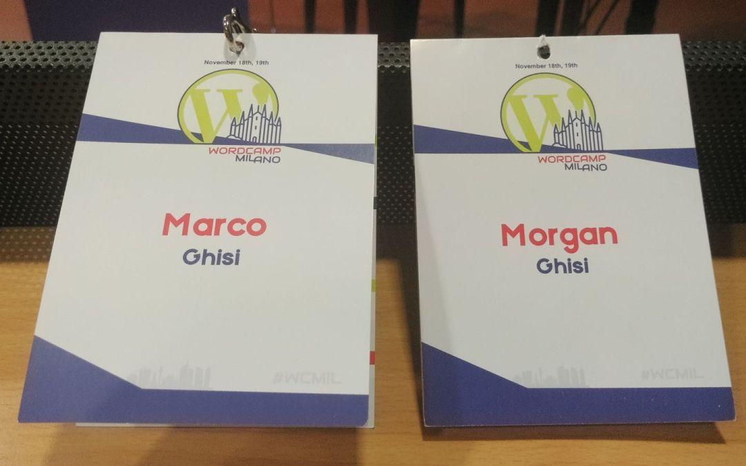 Partecipazione al Wordcamp Milano 2017