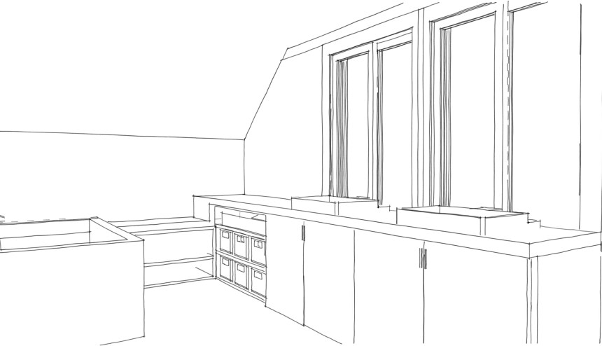 Concepts for a character home renovation in Port Moody