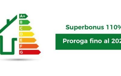 Proroga del Superbonus 110% fino al 2023