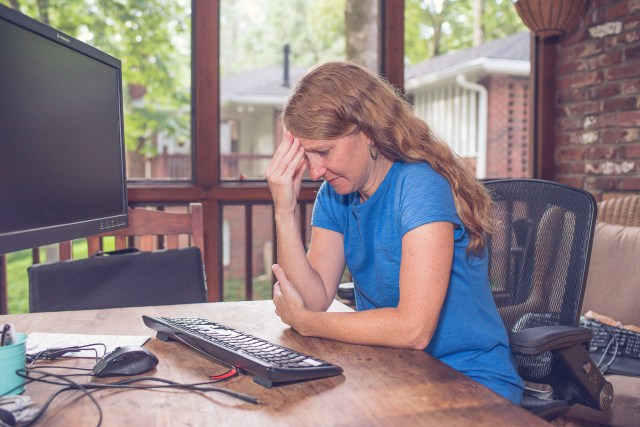 Frustrated mom. SitterTree Learning Assistants for Remote Learning in Atlanta