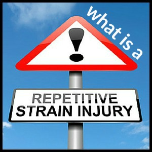 What is a repetitive strain injury?