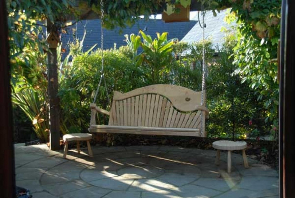Swing Seats For Your Own Pergolas Porches Etc Sitting