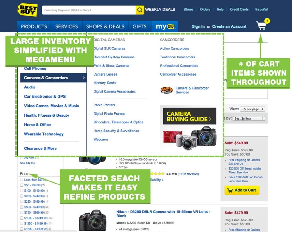 UX-Best-Practices-Best-Buy-Navitation