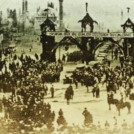 1930'lu yıllar Sivas Demiryolu'nun Açılışı