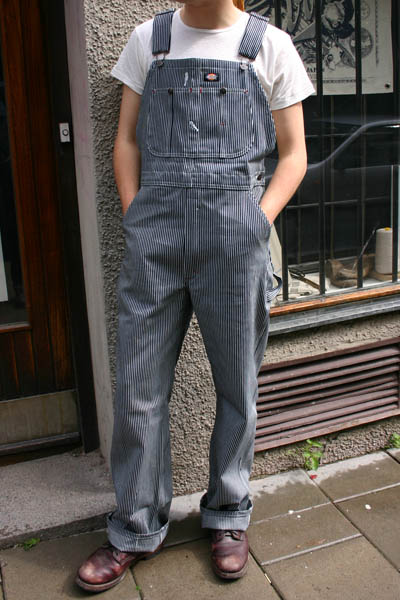 Dickies Hickory Bib Overall Sivletto