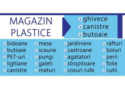 Banner Magazin plastice