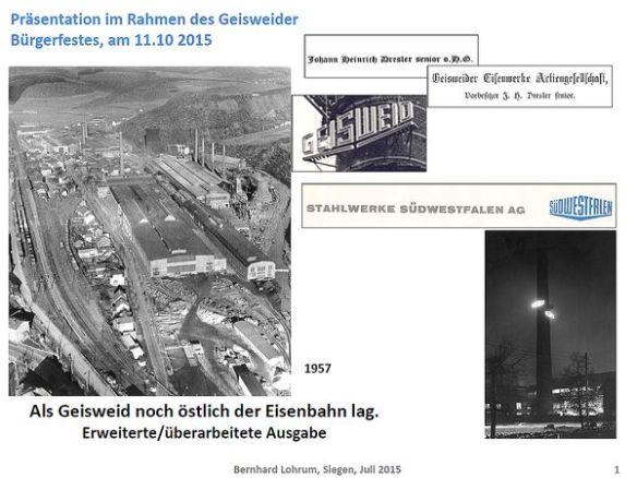 Deckblatt Präsentation Bürgerfest