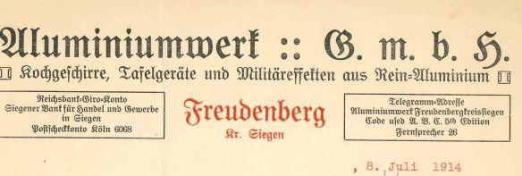 AluminiumwerkFreudenberg1914