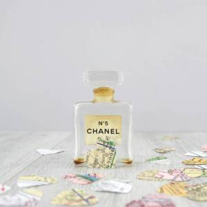 paris map confetti travel themed wedding decorations