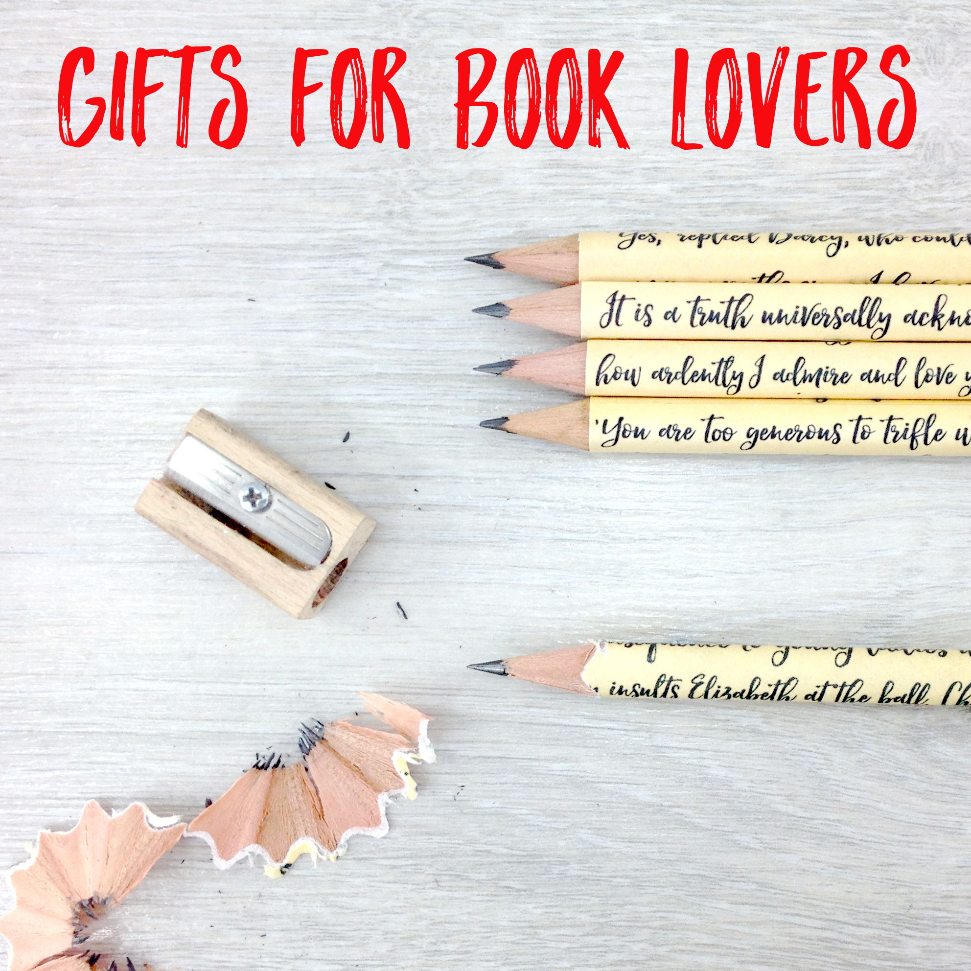 Christmas gifts for book lovers
